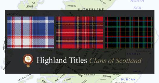 Clans von Schottland:  MacGregor